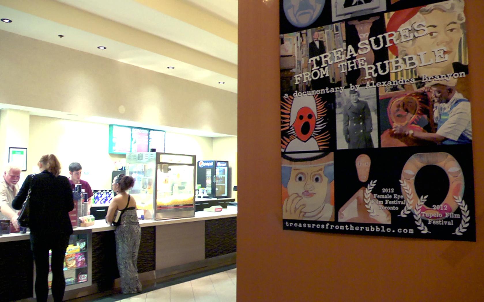 Lobby of Carleton Cinema